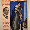 1917 So Long Mother Al Jolson Raymond Egan Gus Kahn Egbert Van Alstyne Detroit MI