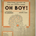 1917 Till The Clouds Roll from Oh Boy Guy Bolton P G Wodehouse Jerome Kern