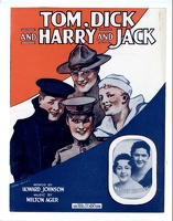 1917 Tom Dick And Harry And Jack Henry Hutt Watson Sisters Howard Johnson Milton Ager