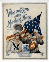 1917 When Our Boys Come Marching Home Sym Winkel