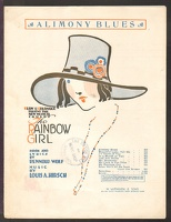 1918 Alimony Blues from The Rainbow Girl Rennold Wolf Louis A Hirsch