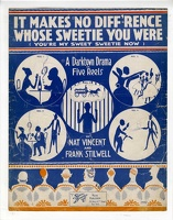 1918 It Makes No Diff'rence Whose Sweetie You Were Starmer Nat Vincent Frank Stilwell