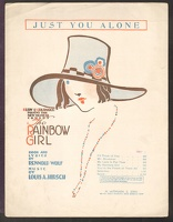 1918 Just You Alone from The Rainbow Girl Rennold Wolf Louis A Hirsch