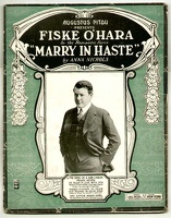 1918 Kind Of A Girl I Mean from Marry In Haste Fiske Ohara Anna Nichols