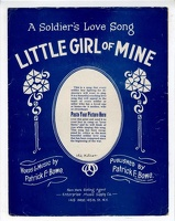 1918 Little Girl Of Mine Patrick F Bowe