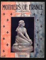 1918 Mothers Of France Joan Of Arc Leo Woods