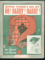 1918 Oh Harry Harry Sophie Tucker Nat Vincent Lew Pollock