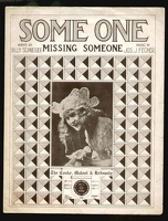 1918 Some One Missing Someone Jean Southern Billy Schneider Jos J Fecher