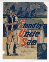 1918 Stand By Uncle Sam Sgt Vernon T Stevens