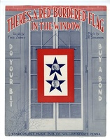 1918 Theres A Red-Bordered Flag In The Window Fred Ziemer J R Shannon