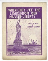 1918 When They See Light From Our Miss Liberty Herbert H Power