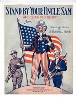1919 Stand By Your Uncle Sam And Dear Old Glory A Russell Howe Buffalo NY
