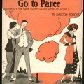 1919 Tell Me Why You Want To Go To Paree L Takacs Shelton Brooks
