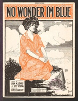 1920 No Wonder I'm Blue Barbelle Sam M Lewis Joe Young Fred E Ahlert