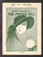 1922 Do It Again from The French Doll Irene Bordoni B G De Sylva George Gershwin