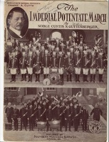 1922 Imperial Potentate March Custis N Guttenberger Macon GA
