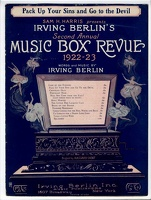 1922 Pack Up Your Sins And Go To The Devil from Music Box Revue 1922-23 Irving Berlin