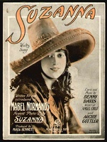 1922 Suzanna Title Song from Suzana Mabel Normand Benny Davis Archie Gottler