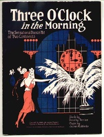 1922 Three O'Clock In The Morning Dorothy Terriss Julian Robledo