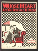 1922 Whose Heart Are You Breaking To-night Pete Wendling Max Kortlander