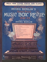 1922 Will She Come From The East  from Music Box Revue 1922-23 Irving Berlin